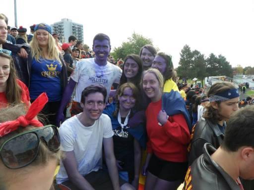 International purple crew