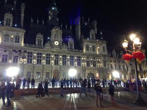 Hôtel de Ville - A not-so bleak midwinter!