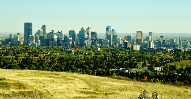 View from Nose Hill Park
