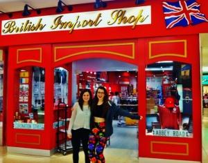 British import store