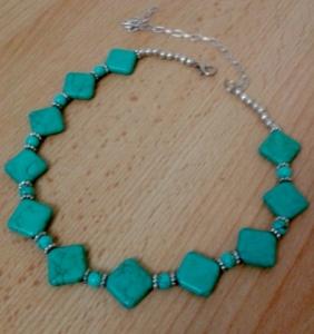 Handmade necklace from the Heart of Jordan Christmas Bazaar