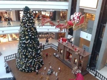 Christmas Decorations at City Mall