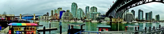 View of Downtown from Granville Island