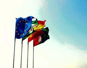 flags alcazaba