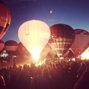 Bristol Balloon Fiesta - Nightglow