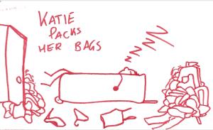 packs bags
