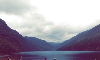 Valley in Glendalough