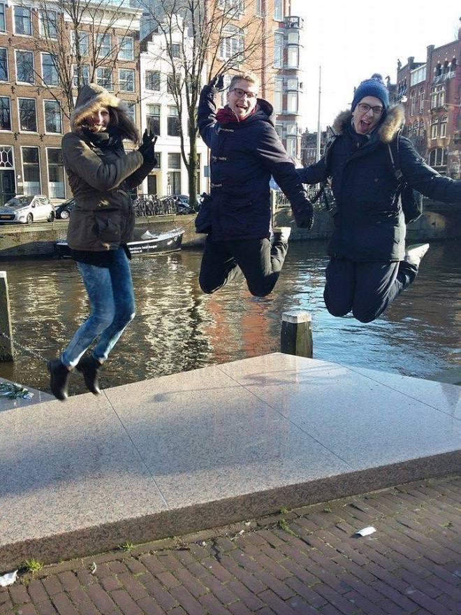 Amsterdam jumping