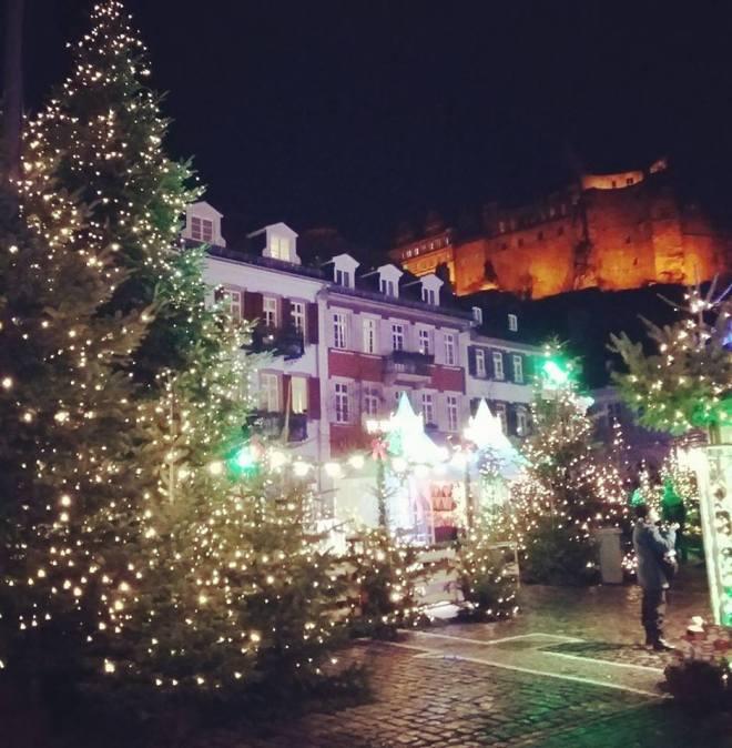 Heidelberg christmas market + castle