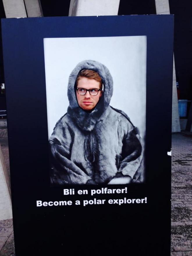Erland polar explorer