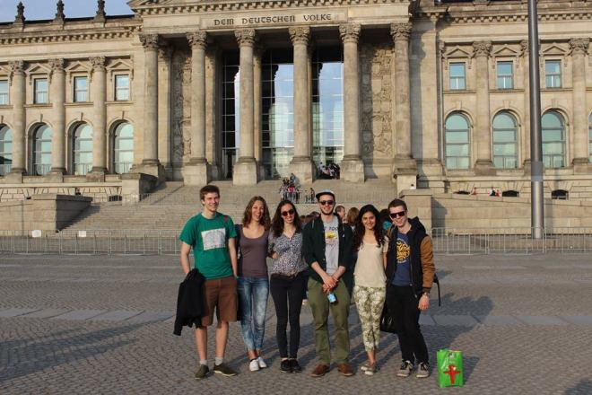 Berlin avec the Frenchies