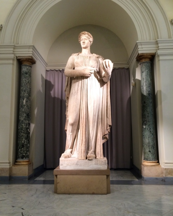 Urania, one of the Muses
