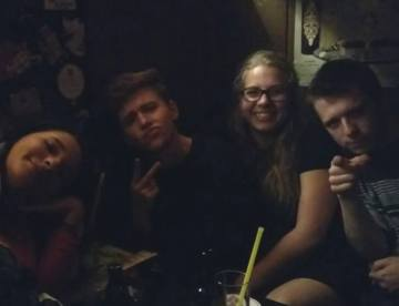 Smokey German bar pic