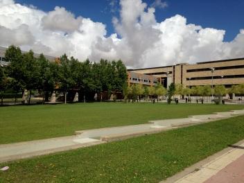 The slightly less grand Economics Campus...