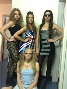 We lost the 5th spice girl