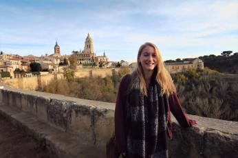 Squinting in Segovia