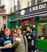 Best falafel place in Paris. I think I've been there about ten times...