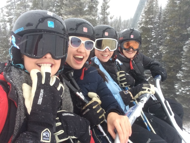First ski lift