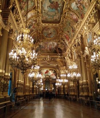 Inside the Palais Garnier