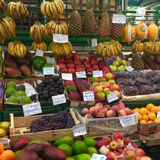 Exotic fruits (try goiaba, graviola, guarana, açaí)