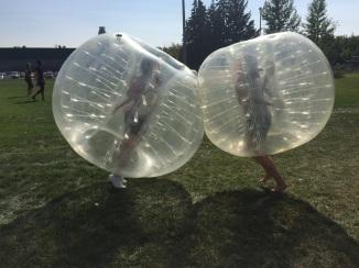 Bubble Soccer!