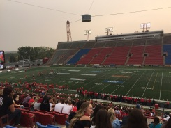 First American (Canadian?) Football Match