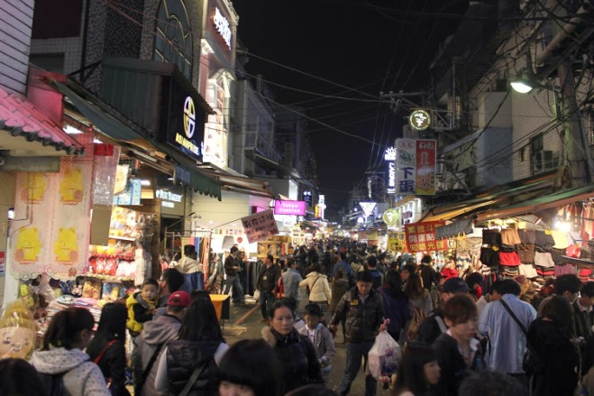 Image result for shilin night market
