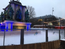 Ice Rink at 7:00am