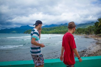 Cheeky stroll on the beaches of Sabang