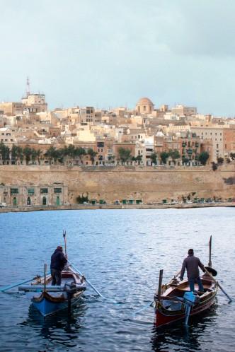 View over Valetta, Malta